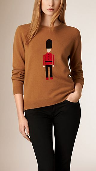 The Guardsman Wool Cashmere Sweater