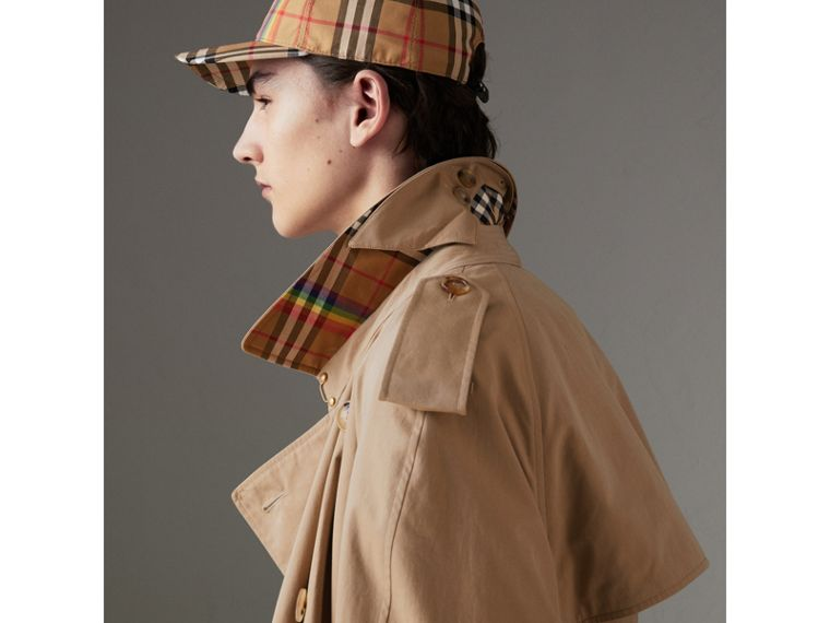 Tropical Gabardine Trench Coat in Honey | Burberry United States - cell image 1
