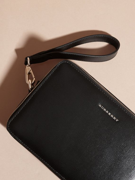 London Leather Pouch Black - cell image 2