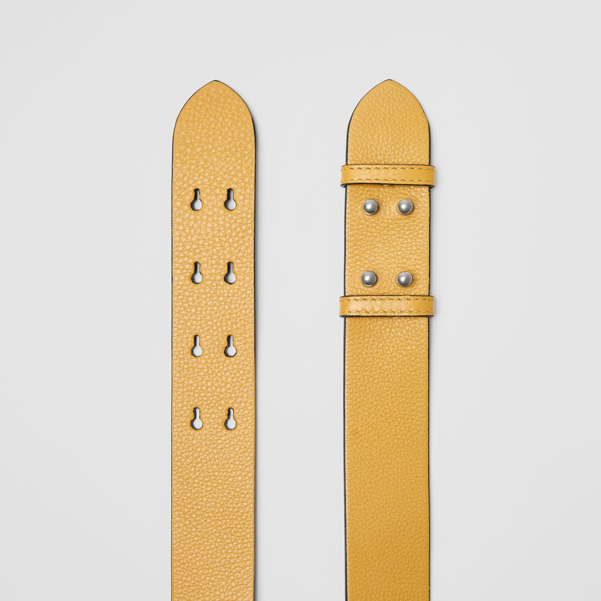 The Medium Belt Bag Grainy Leather Belt in Cornflower Yellow - Women | Burberry - gallery image 2