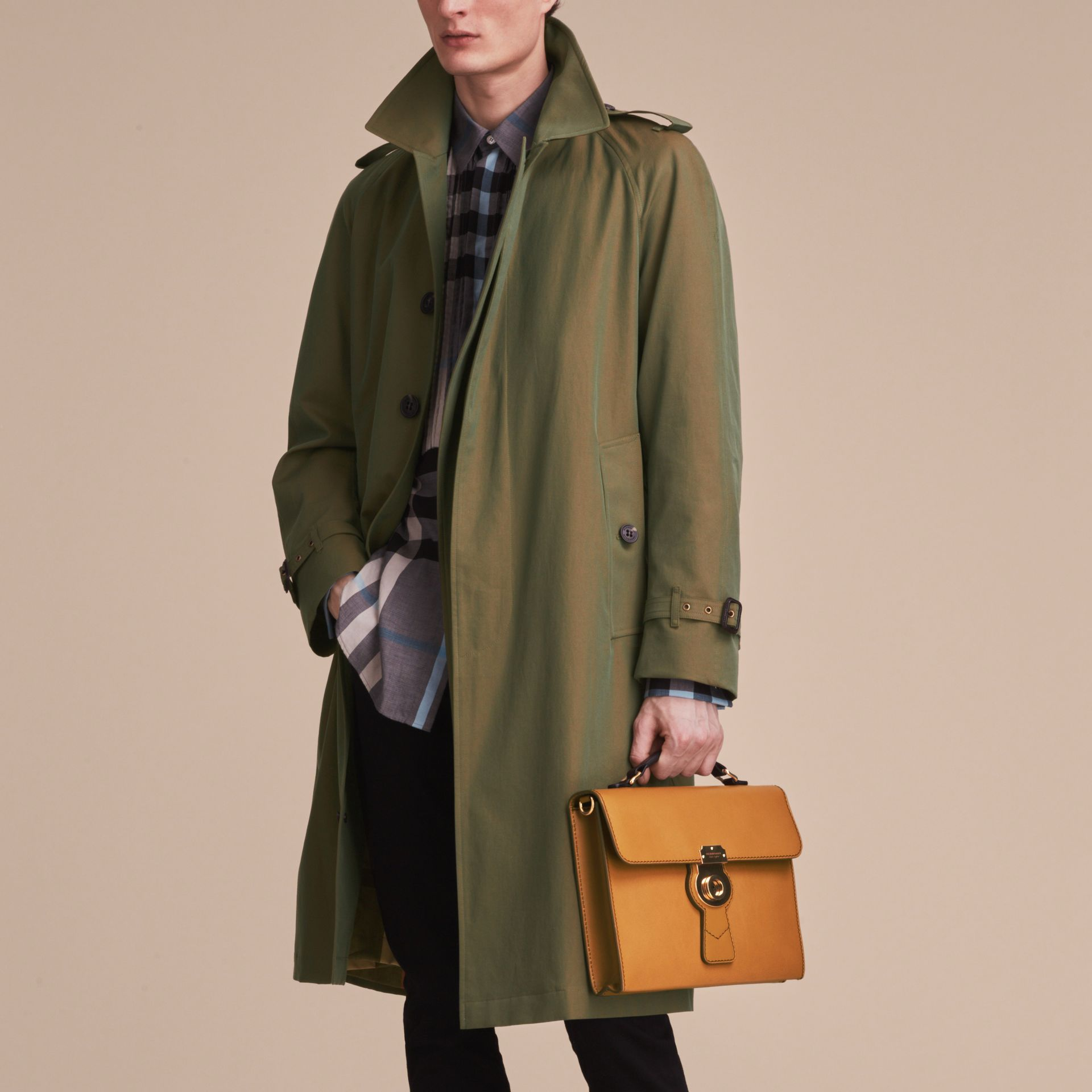 The DK88 Document Case in Ochre Yellow - Men | Burberry Australia - gallery image 7