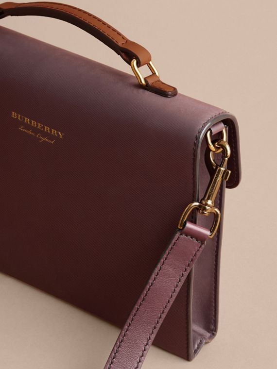 The DK88 Portfolio Case in Wine - Men | Burberry - cell image 3