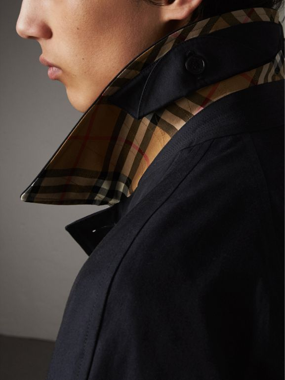 The Brighton – Car Coat 大衣 (碳藍色) - 男款 | Burberry - cell image 1