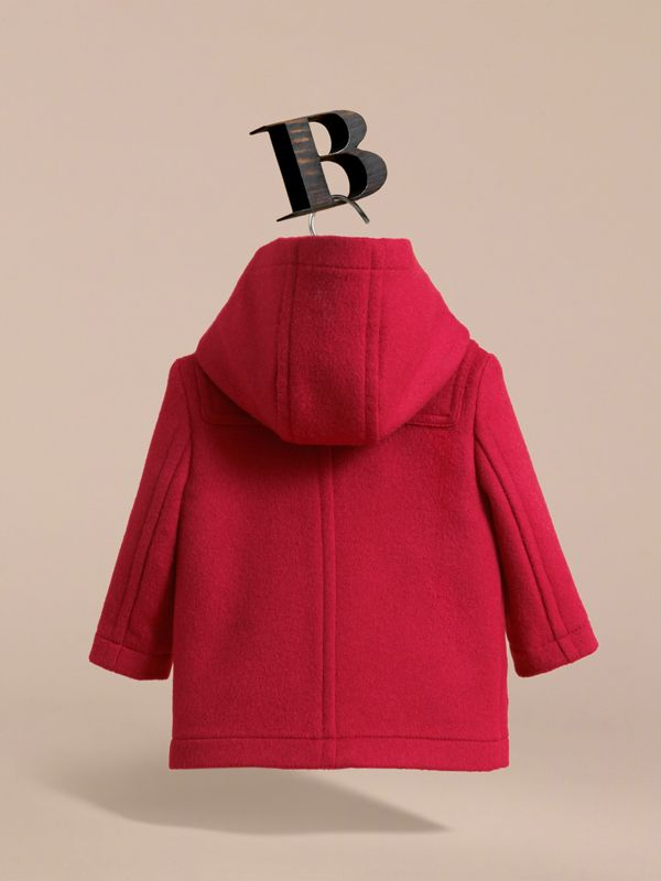 Wool Duffle Coat in Parade Red | Burberry United States - cell image 3