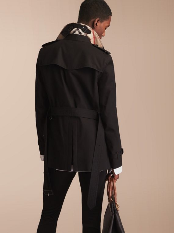 Trench coat Sandringham - Trench coat Heritage corto Negro - cell image 2