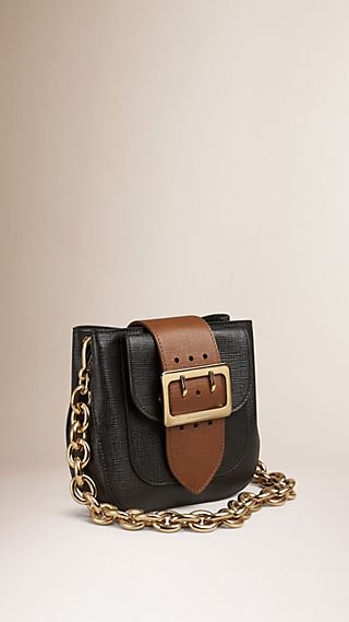 Borsa The Belt piccola e quadrata in pelle