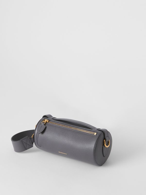 Sac The Barrel en cuir (Gris Anthracite) - Femme | Burberry Canada - cell image 3