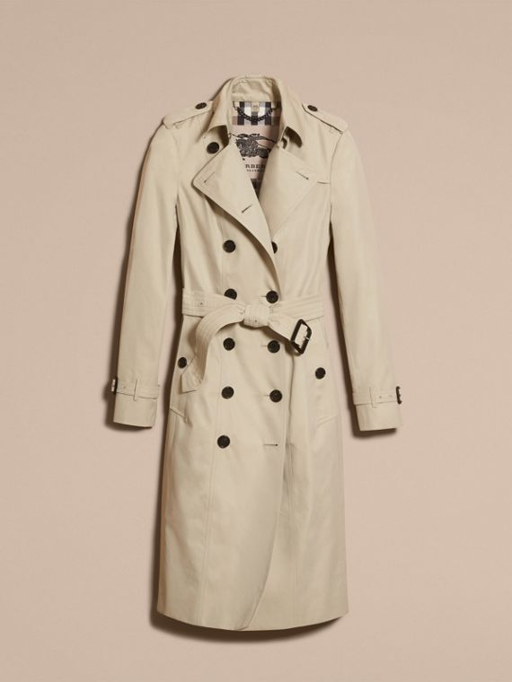 Stone The Sandringham – Extra-long Heritage Trench Coat Stone - cell image 3