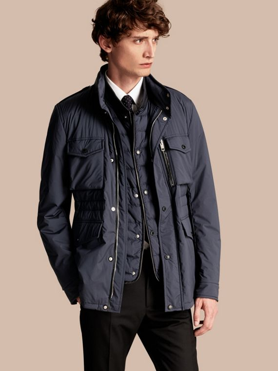 Lightweight Field Jacket with Detachable Gilet