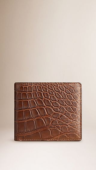 Alligator Folding Wallet