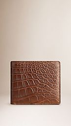 Alligator Folding Wallet
