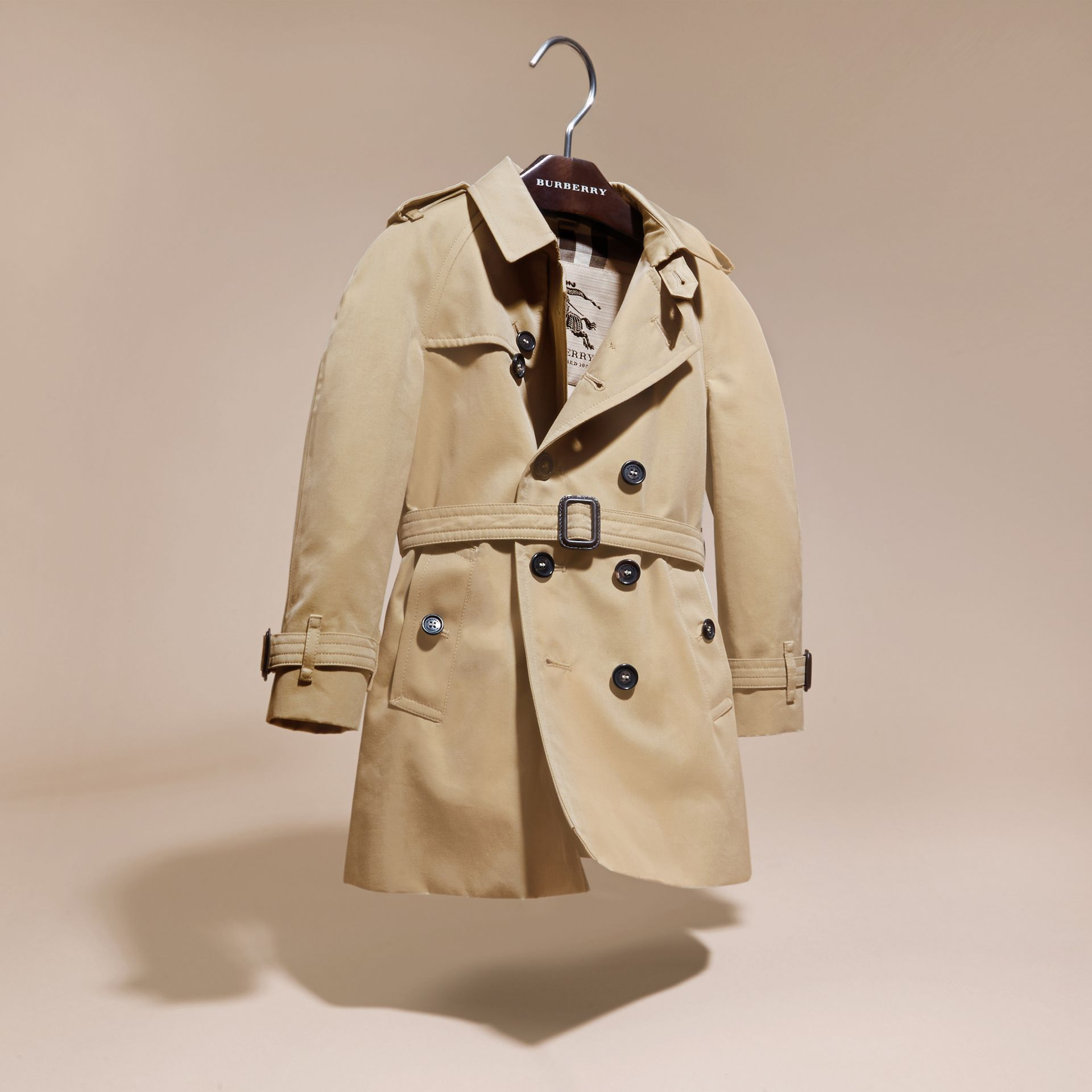 Honey The Wiltshire – Heritage Trench Coat Honey - gallery image 3