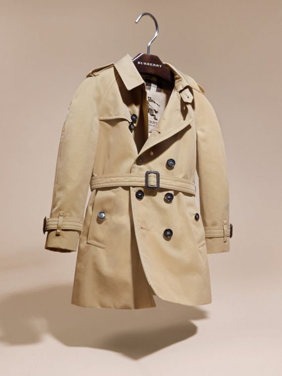 Miel Trench coat Wiltshire - Trench coat Heritage Miel - cell image 2