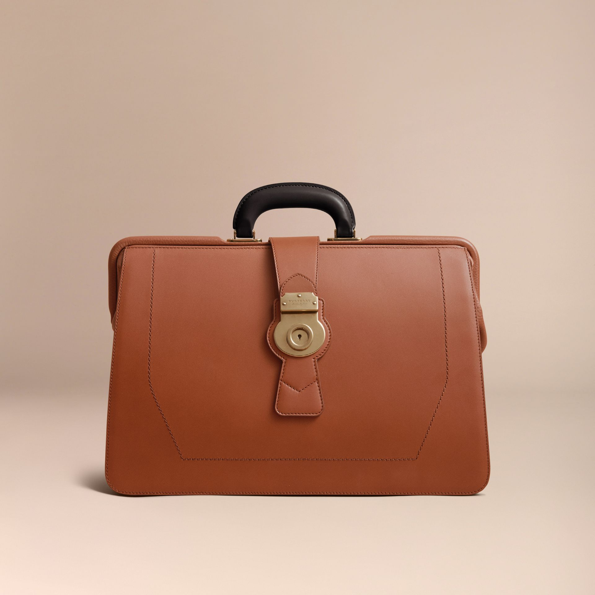 The DK88 Doctor's Bag in Tan - Men | Burberry - gallery image 6