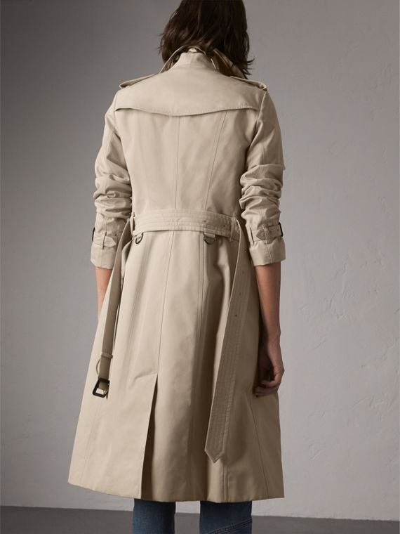 The Sandringham – Extra-long Trench Coat in Stone - Women | Burberry Singapore - cell image 2