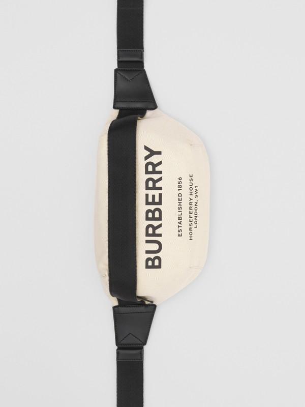 Поясная сумка с принтом Horseferry, средний размер (Естественный / Черный) | Burberry - cell image 3