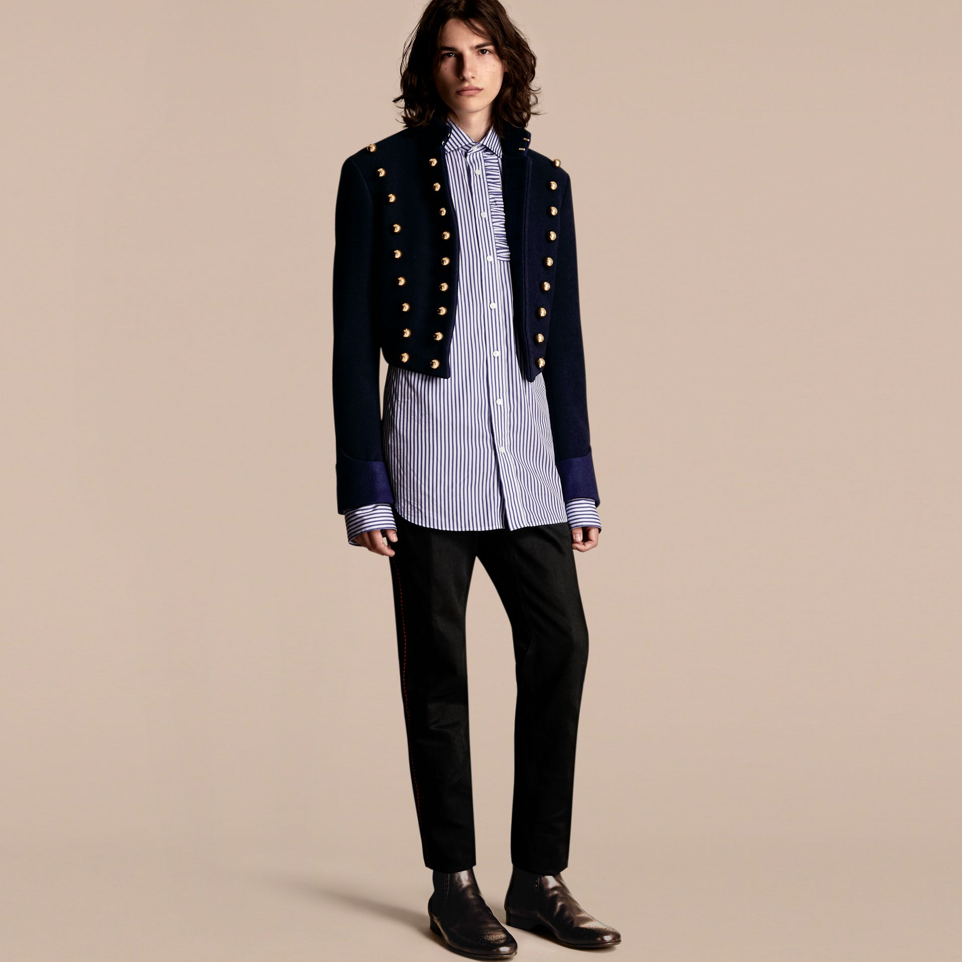 Dark navy The Parade Jacket - gallery image 1