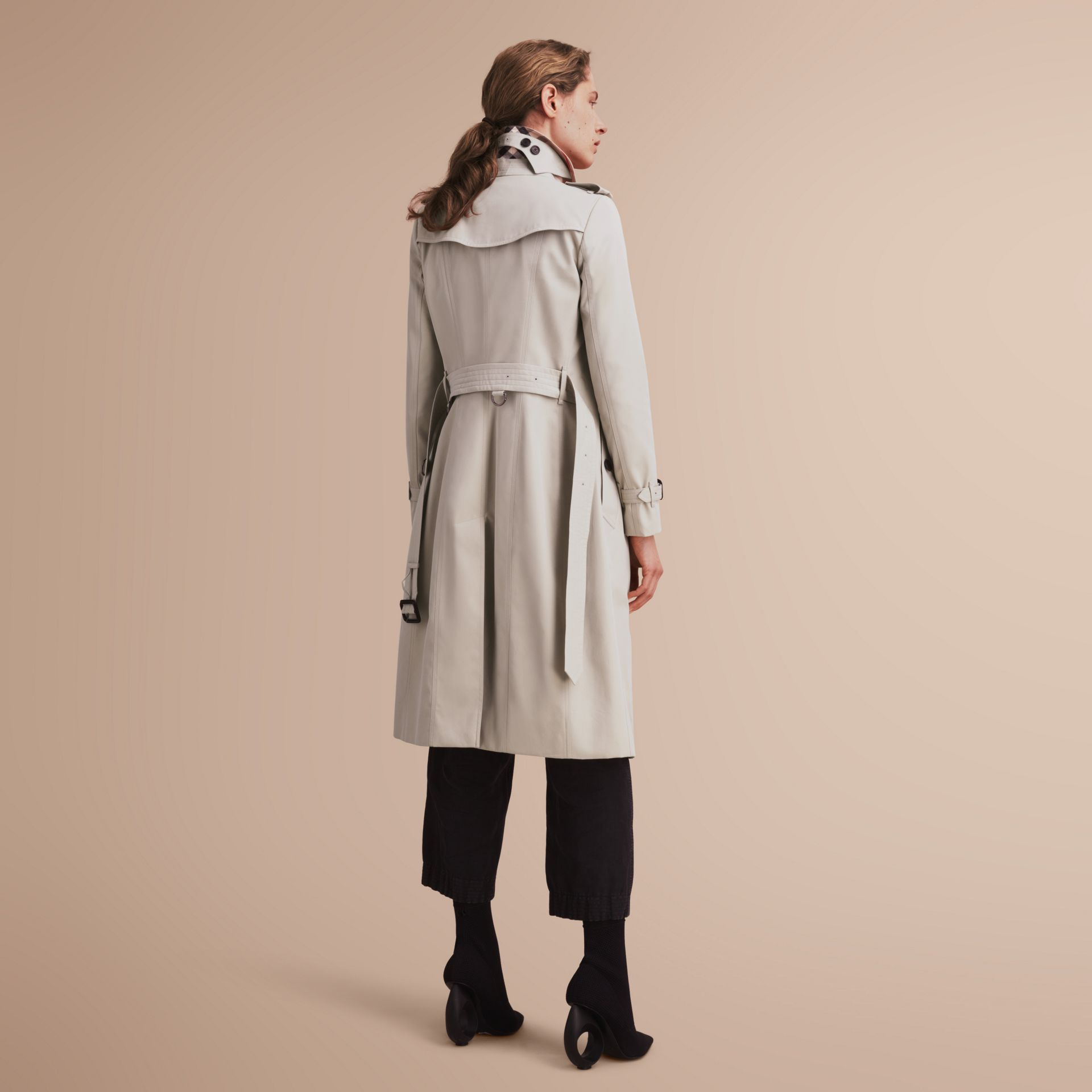 The Chelsea – Extra-long Heritage Trench Coat in Stone - gallery image 3