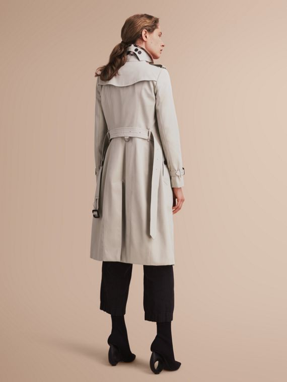 The Chelsea – Extra-long Heritage Trench Coat Stone - cell image 2