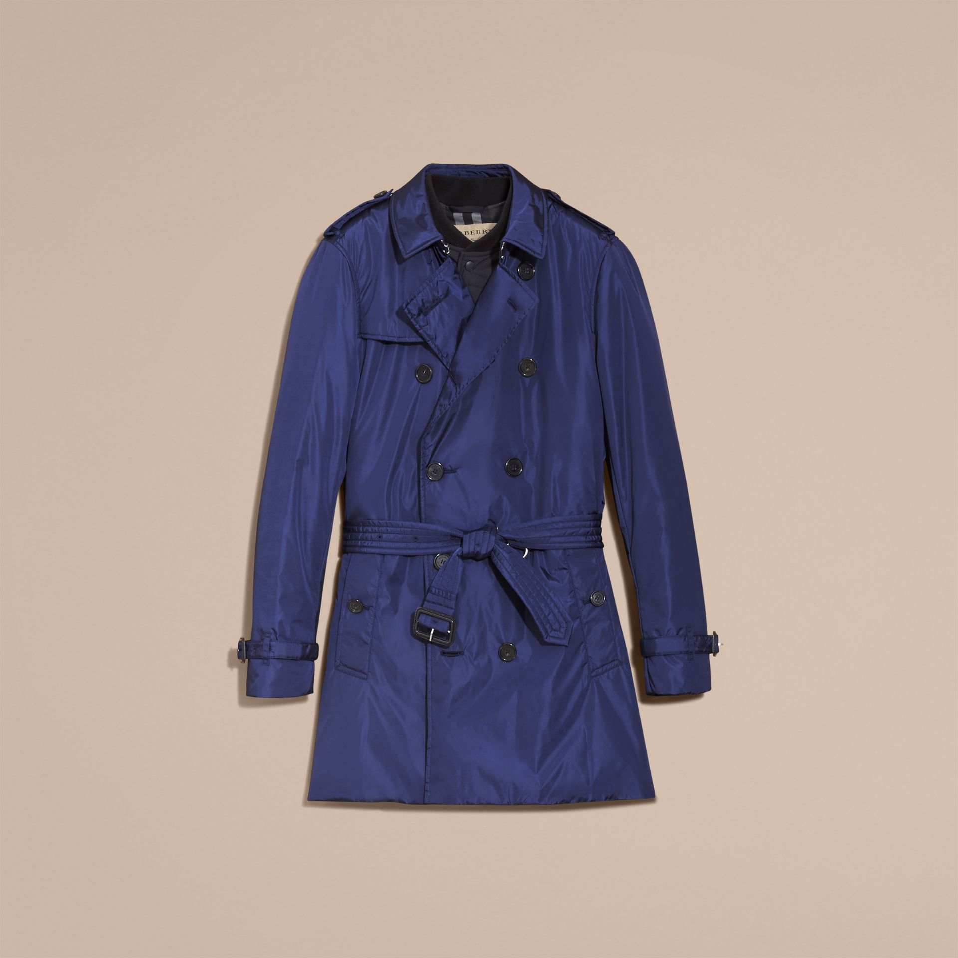 Showerproof Technical Trench Coat with Detachable Warmer - gallery image 4