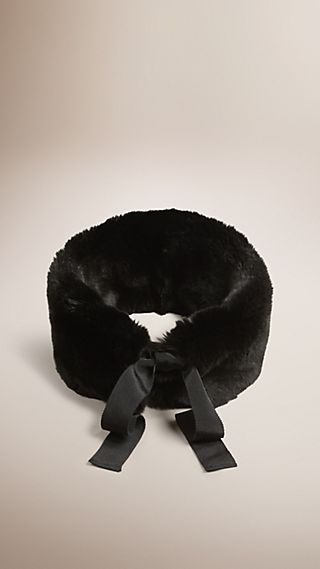 Rabbit Fur Collar
