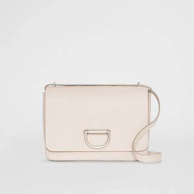 The Medium Leather D Ring Bag by Burberry