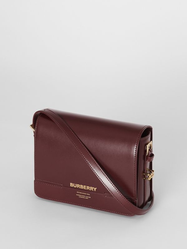 Small Leather Grace Bag in Oxblood - Women | Burberry - cell image 3