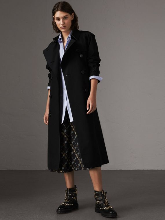 The Westminster - Trench coat extralongo (Preto)