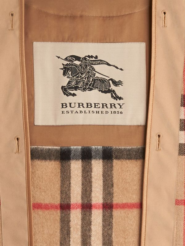 Kensington and Wiltshire Fit House Check Cashmere Wool Warmer in Camel - Men | Burberry Canada - cell image 2