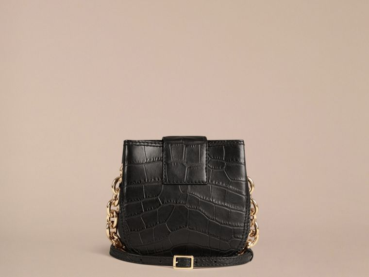 The Small Square Buckle Bag in Alligator Limited Edition - cell image 4