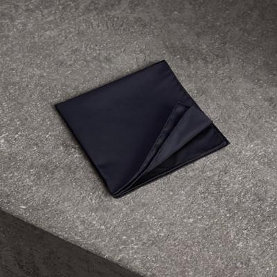 seta Blu Notte taschino Uomo Fazzoletto in da Burberry t4wZ4z