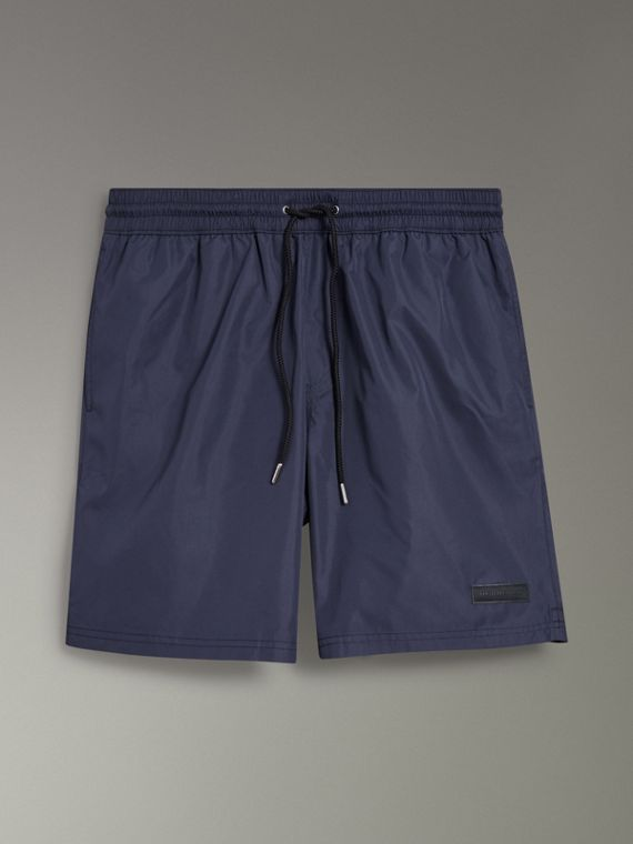 Drawcord Swim Shorts in Navy
