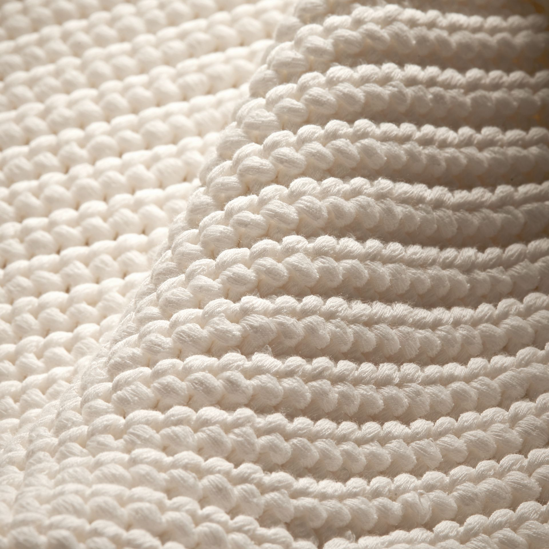 Cotton Blend Sweater with Ruff Neck - gallery image 2