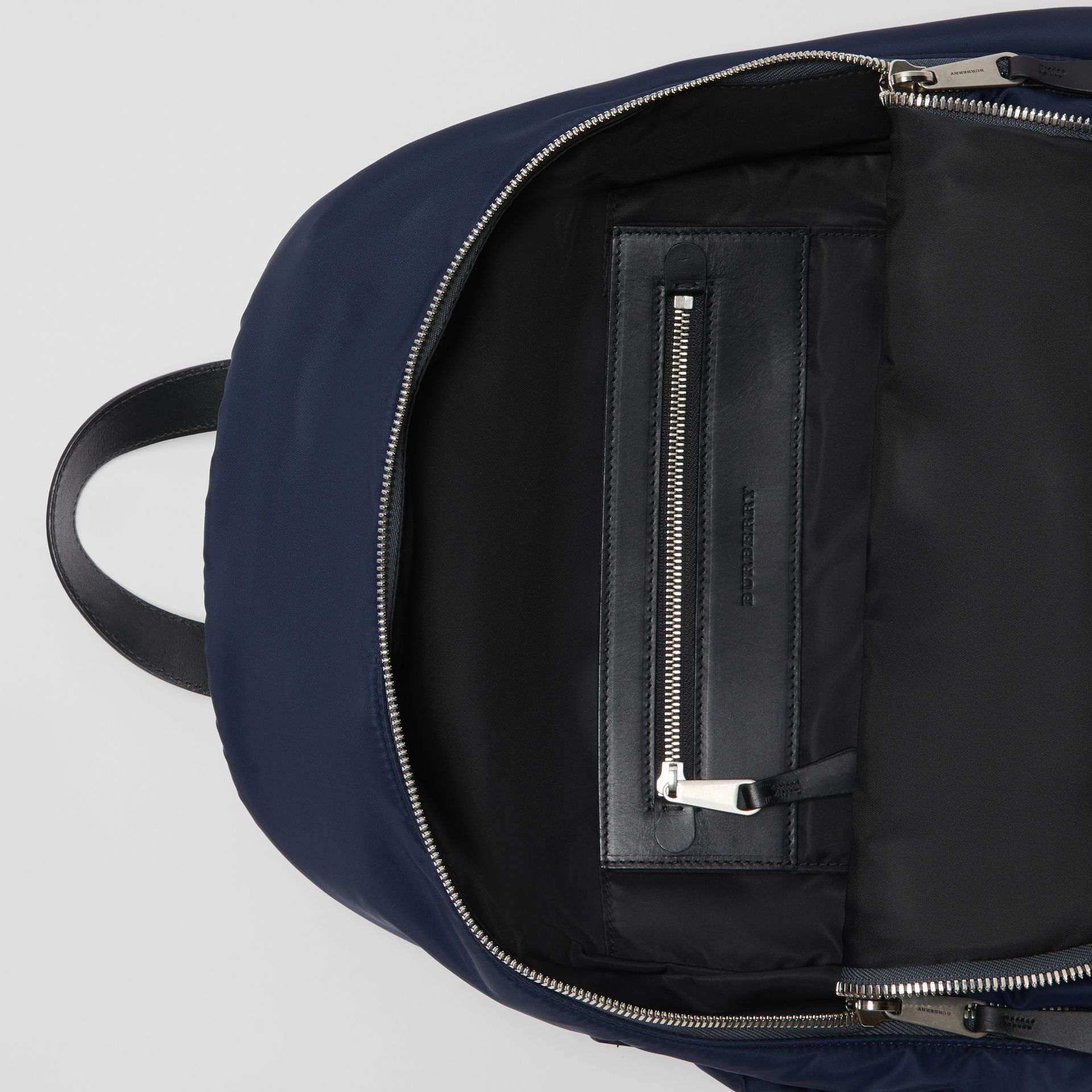 Large EKD Aviator Nylon Backpack in Ink Blue - Men | Burberry - gallery image 3