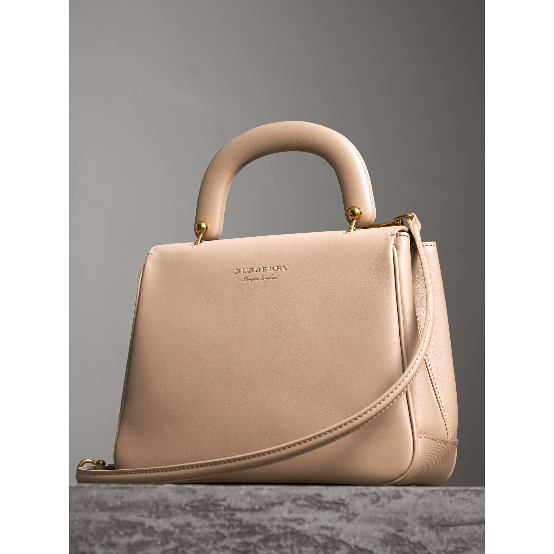 The Medium DK88 Top Handle Bag in Honey - Women | Burberry - gallery image 3
