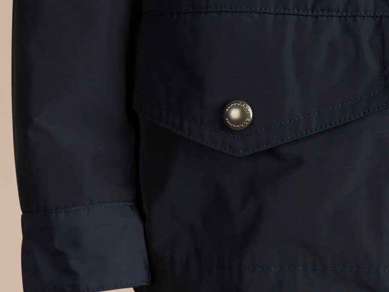 Ink Showerproof Field Jacket with Detachable Down-filled Warmer - cell image 1