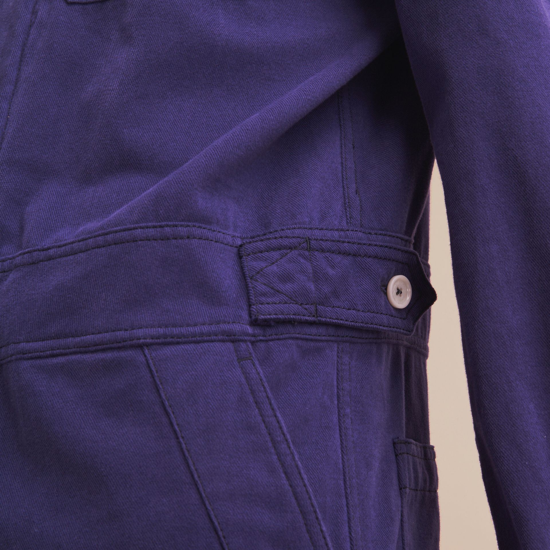 Cotton Artist Overalls in Mid Indigo - Men | Burberry - gallery image 4