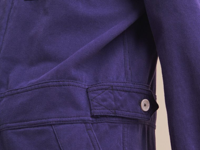 Cotton Artist Overalls in Mid Indigo - Men | Burberry - cell image 4