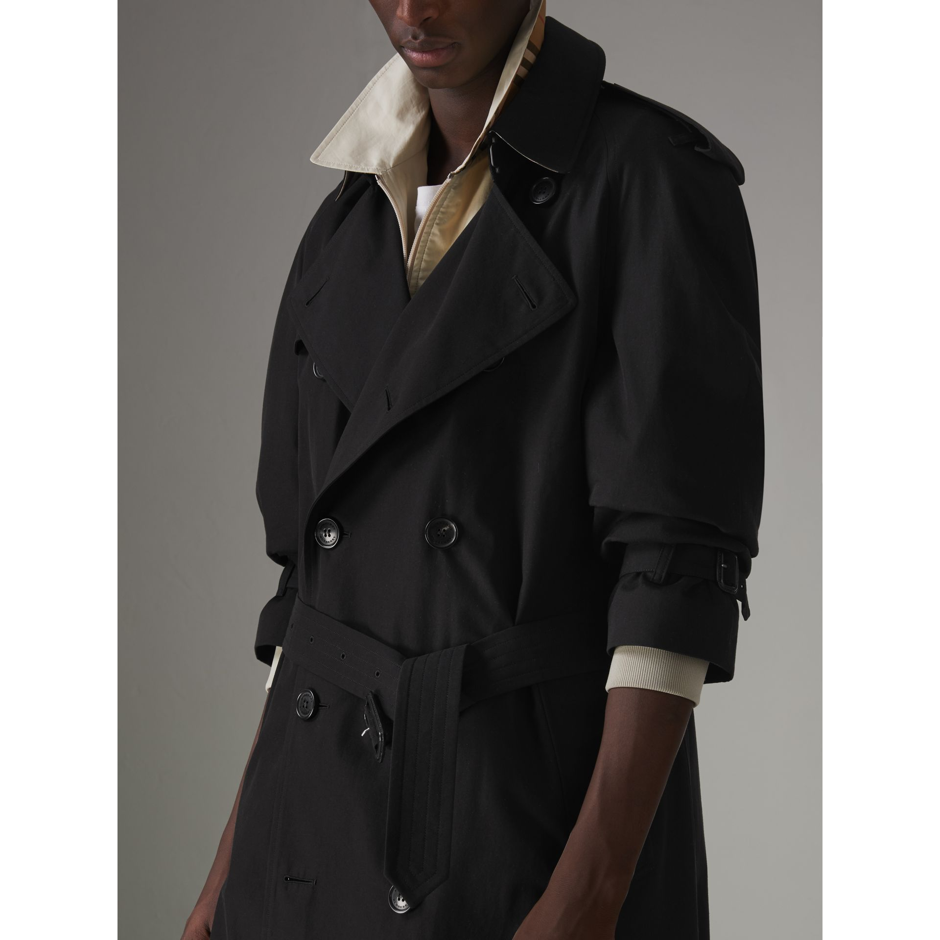 The Westminster – Trench Heritage (Noir) - Homme | Burberry Canada - photo de la galerie 4