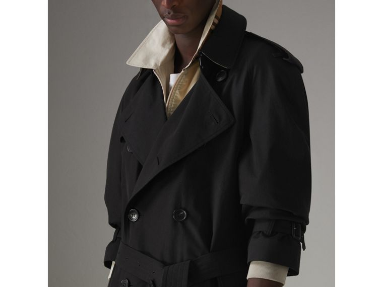 The Westminster Heritage Trench Coat in Black - Men | Burberry United States - cell image 4