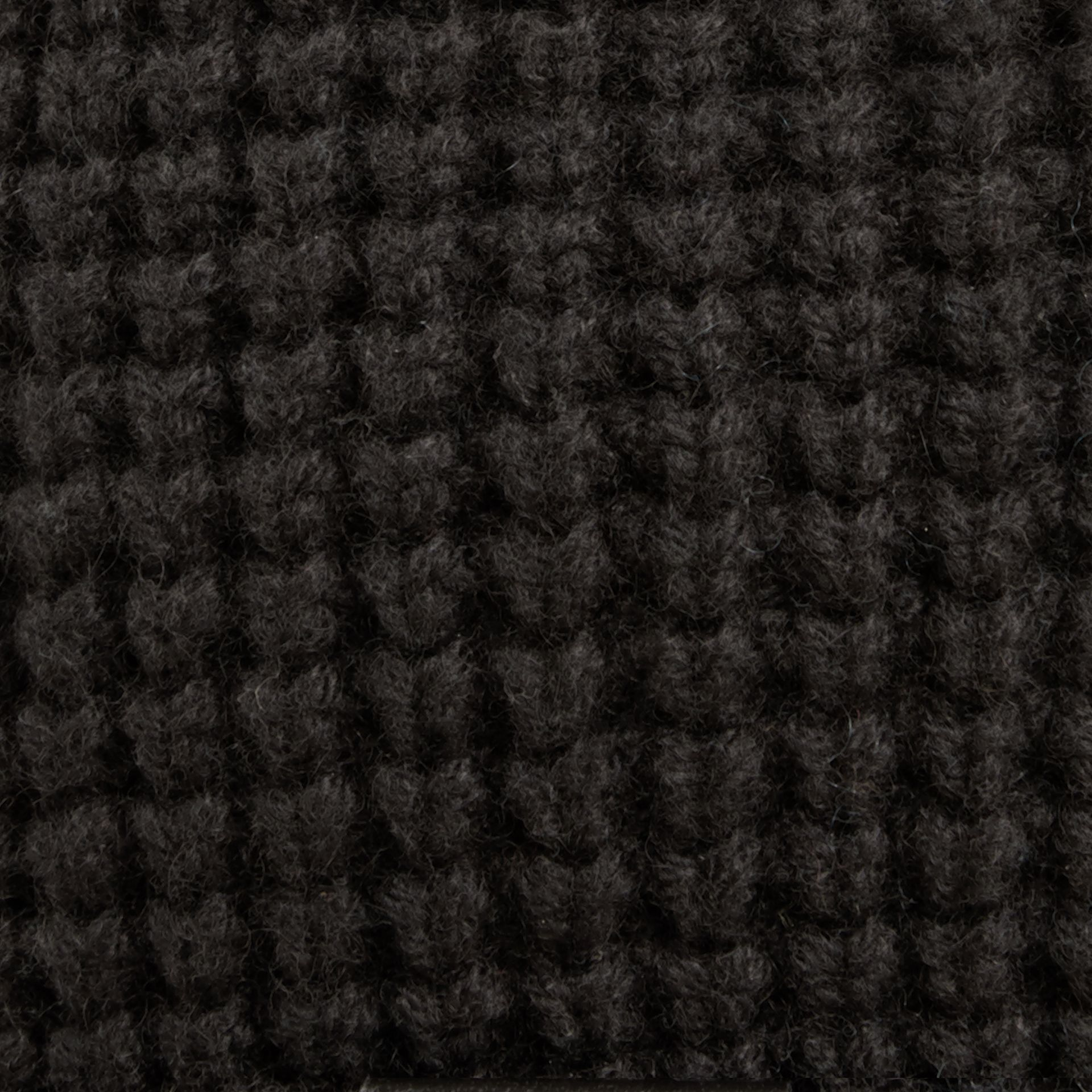 Cashmere Blend Waffle Knit Beanie in Black | Burberry - gallery image 2