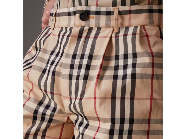 Gosha x Burberry Tailored Shorts in Honey | Burberry - cell image 1