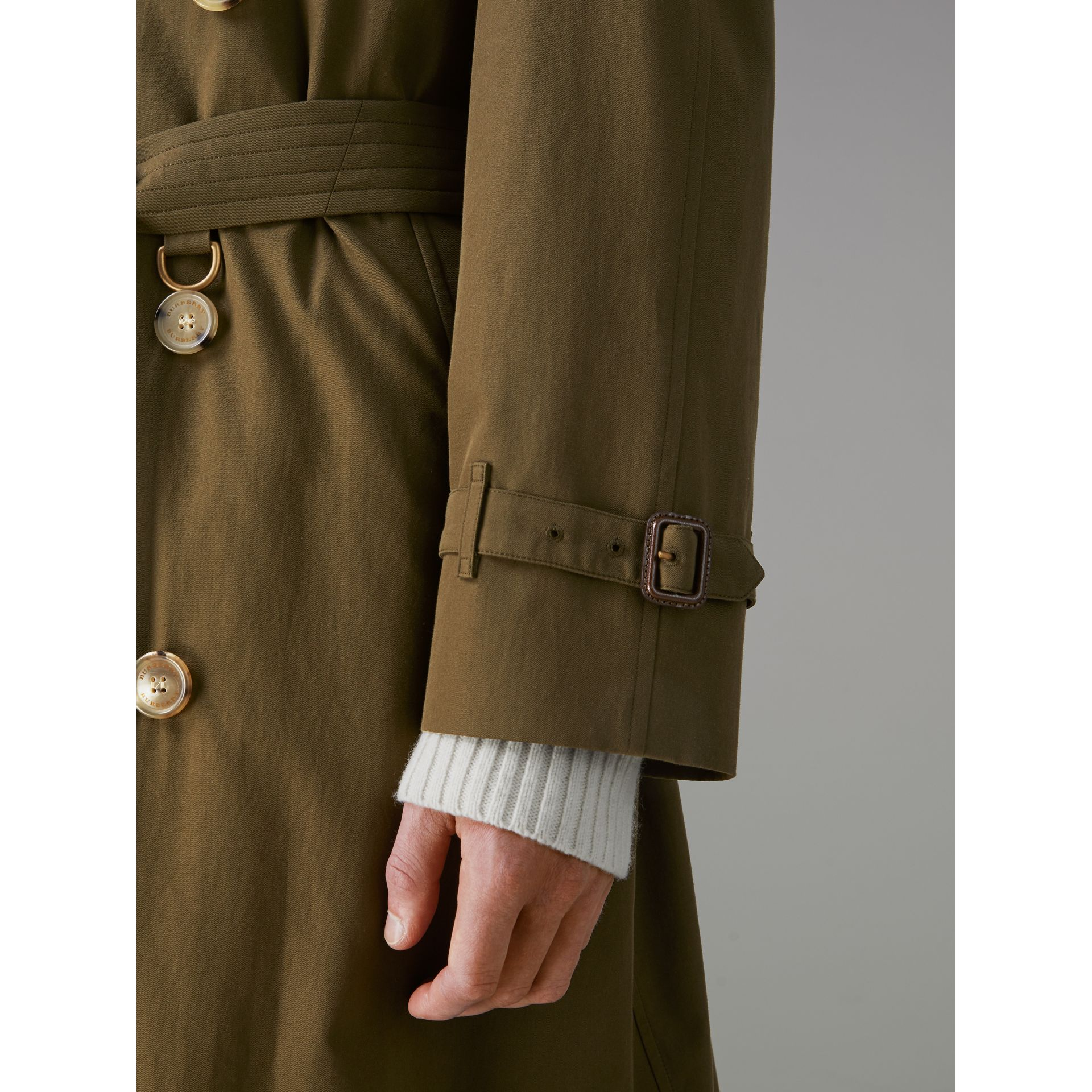 The Westminster Heritage Trench Coat in Dark Military Khaki - Men | Burberry - gallery image 7