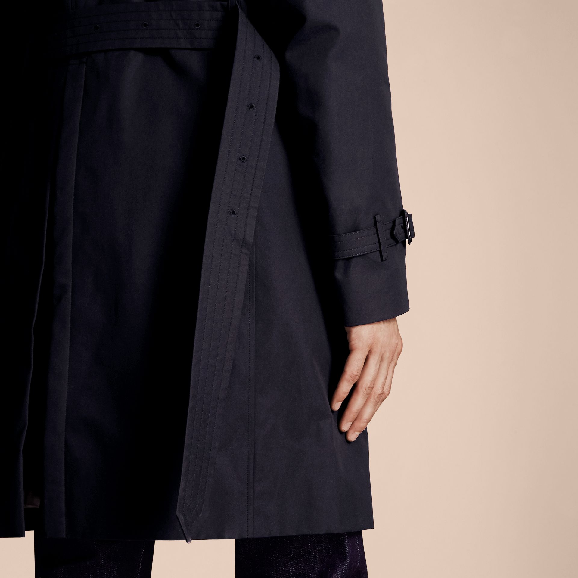 Marine The Kensington – Trench-coat Heritage long Marine - photo de la galerie 6