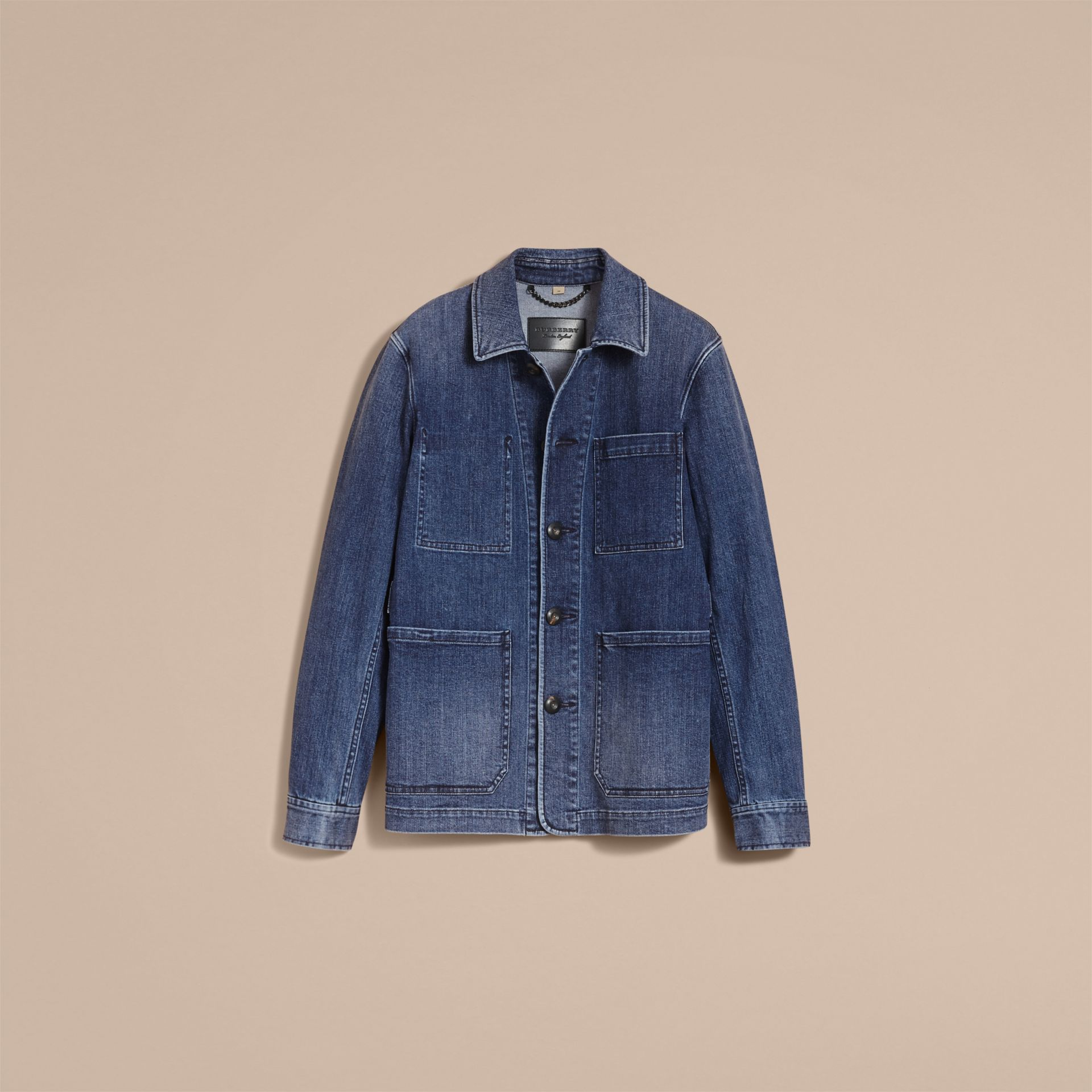 Denim Workwear Jacket - gallery image 4