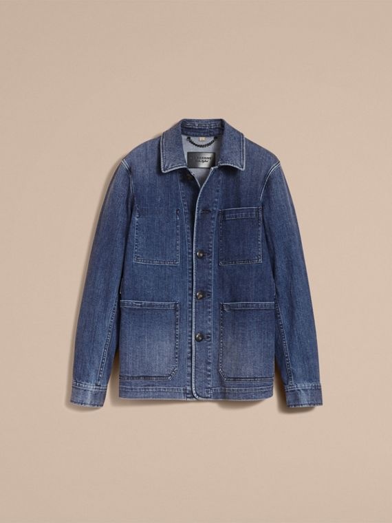 Denim Workwear Jacket - cell image 3