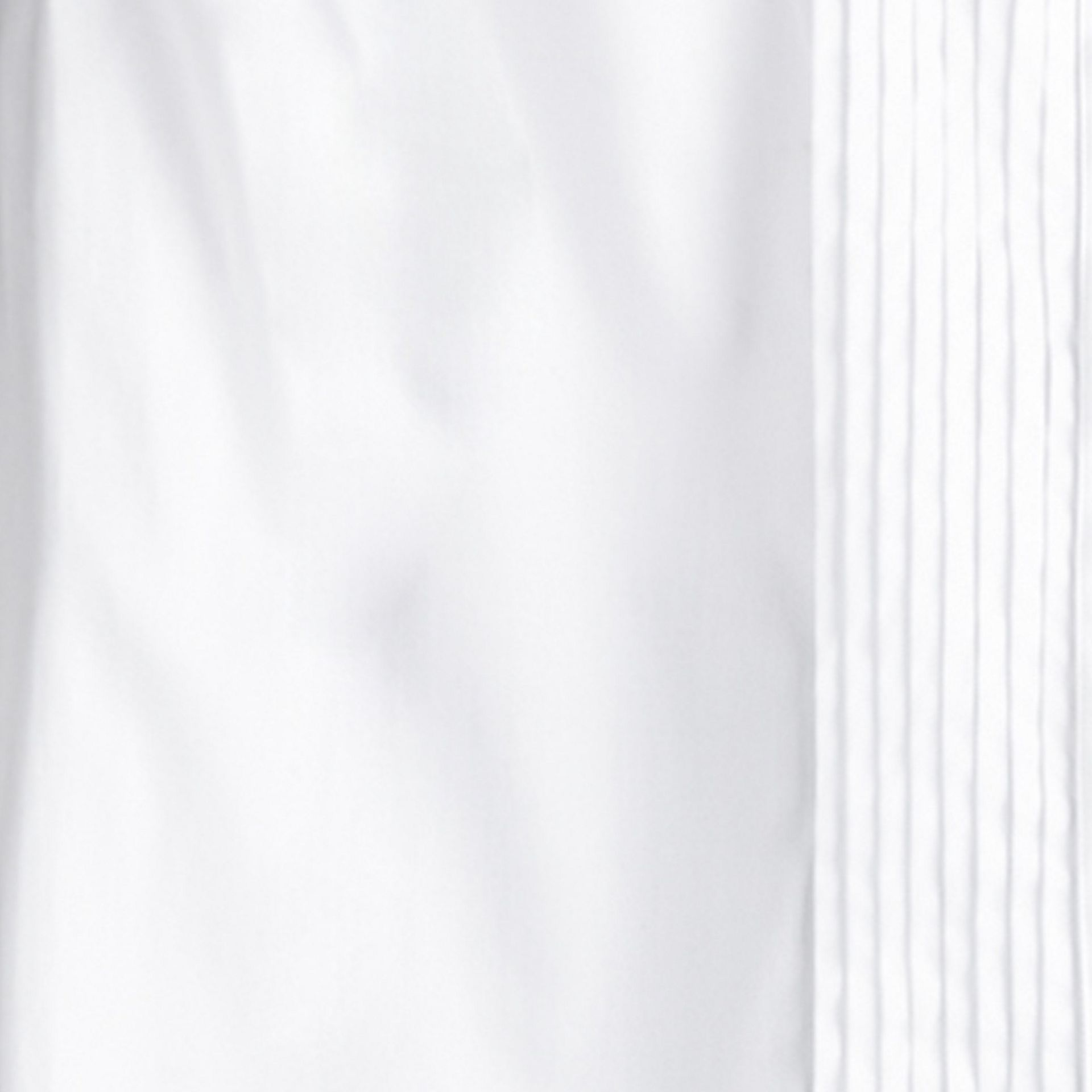 Cotton Dress Shirt in White - Boy | Burberry - gallery image 1