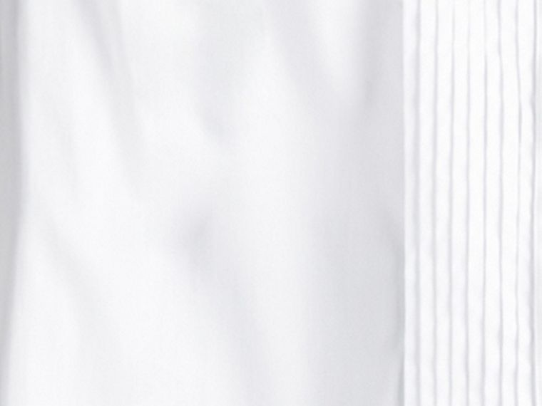 Cotton Dress Shirt in White - Boy | Burberry - cell image 1