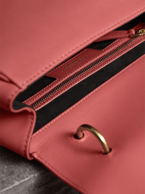 The Medium DK88 Top Handle Bag in Blossom Pink - Women | Burberry - cell image 3