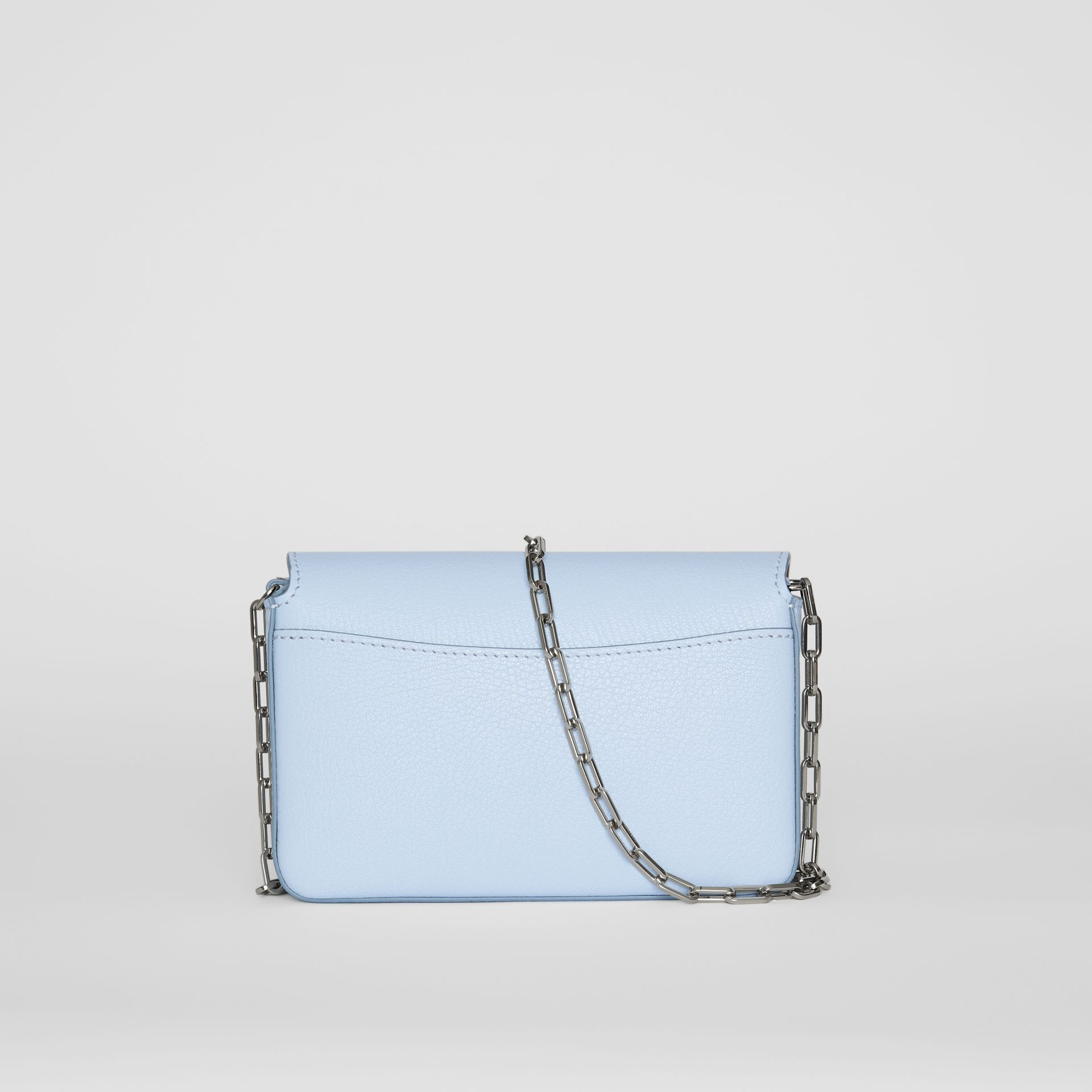 The Mini Leather D-ring Bag in Pale Blue - Women | Burberry United Kingdom - gallery image 7